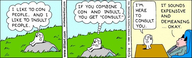 Dilbert - Dogbert - Consultant